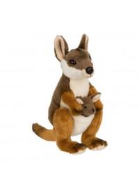 Wallaby avec bébé 19cm