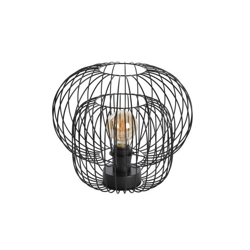 Curtina.fr : Lampe Kokeshi filaire Noir