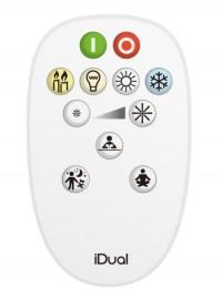 Télécommande Plate Idual White