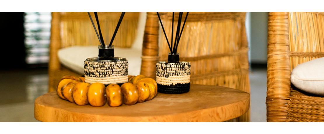 Découvrir notre sélection de bougies et diffuseurs  - Curtina.fr